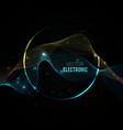 blend-wave-background-round vector image