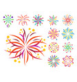 Firework icon isolated