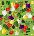 greek salad seamless pattern with olives vector image vector image