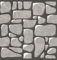 seamless pattern cobblestone pavement vector image vector image