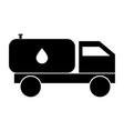 cistern truck vector image