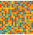 colorful dots pattern vector image vector image