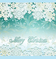 emerald festive vector image vector image