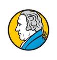 Engineer and inventor James Watt vector image vector image
