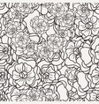 flover wallpaper in the style of art nouveau vector image
