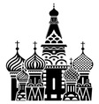 Moscow symbol resize vector image vector image