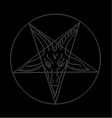 The Sigil of Baphomet vector image vector image