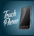 smartphone device design poster vector image