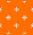 ancient compass pattern seamless vector image vector image