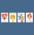 beautiful women with children happy mothers day vector image