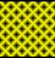 black and yellow chessboard abstract geometric vector image