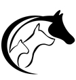 Cat horse and dog vector | Price: 1 Credit (USD $1)