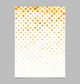 Diagonal square pattern poster design - mosaic