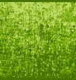 green camouflage grunge background vector image