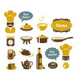 Kitchen and restaurant icons vector | Price: 3 Credits (USD $3)