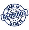 made in Bermuda vector image vector image