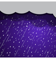 rain clouds 2 vector image vector image