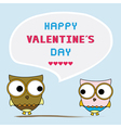 Romantic card49 vector image