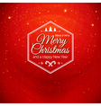 Traditional Merry Christmas and Happy New Year vector image vector image