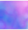 Abstract blurred background Pink and blue shades vector image vector image