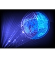 Abstract Planet Background vector image vector image