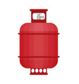 gas tank icon in flat style vector image