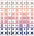 mosaic cubes on pastel color vector image vector image