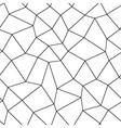 Mosaic geometric seamless pattern vector image