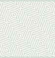 retro vintage geometric seamless rhombuses pattern vector image vector image