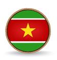 Suriname Seal vector image