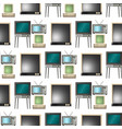 tv screen lcd monitor and notebook tablet vector image vector image