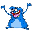 Ugly monster cartoon vector image vector image