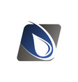 water blasting logo vector image