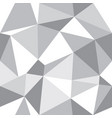 abstract triangle geometrical grey vector image vector image