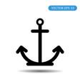 anchor icon eps 10 vector image