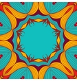 Background from round lace pattern with natural vector image vector image