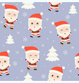 christmas seamless pattern theme for use as vector image vector image