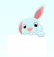 cute easter bunny vector image