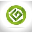 emblem icon design vector image vector image