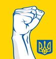 Napred Ukraina1 resize vector image vector image