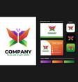 webbutterfly logo design inspiration vector image