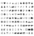 Communication icons Web icons set Internet icons vector image