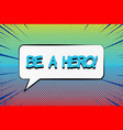 comic motivating bright concept vector image vector image