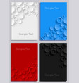 covers design set vector image