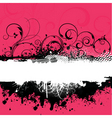 decorative grunge vector image vector image