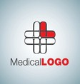MEDICAL LOGO 11 vector image vector image