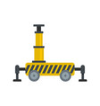 platform equipment icon flat style vector image vector image