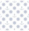 seamless maritime pattern vector image
