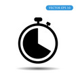 stopwatch icon eps 10 vector image