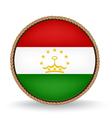 Tajikistan Seal vector image vector image